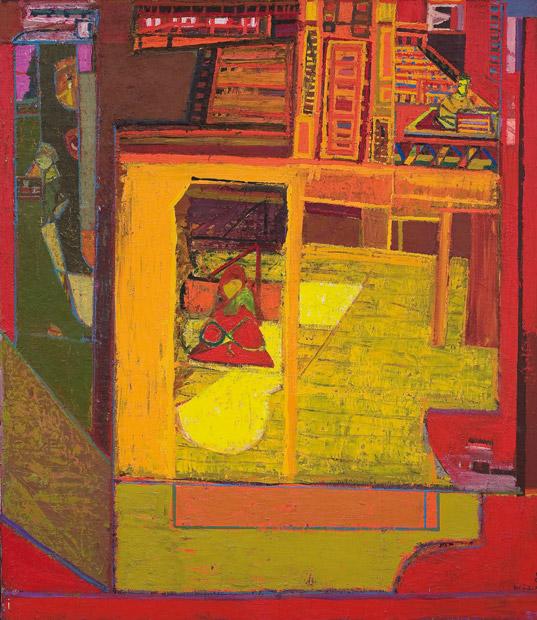 Klaus Hack, Skulpturen - Walter Libuda, Malerei Ausstellung Wuppertal