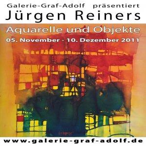 Ausstellung Jürgen Reiners-Aquarelle und Objekte vom 05.11.2011 - 10.12.2011 in der Galerie-Graf-Ado
