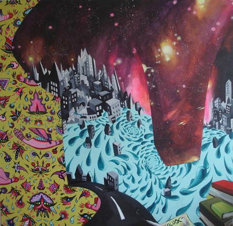 Emel Geris und Mi-ran Kim - Malerei