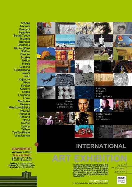 KOFFER - berlinimportart International Art Exhibition