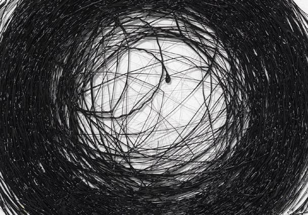 Dimensionen - Zeichnung im Raum