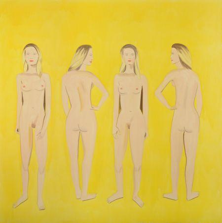 Alex Katz Naked Beauty Ausstellung Hannover