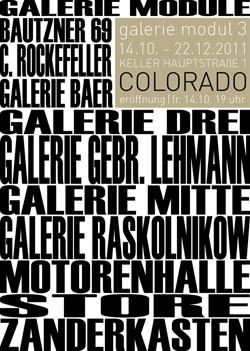 galerie modul 3. colorado Ausstellung Dresden