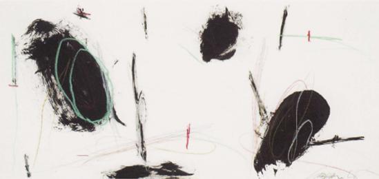 """Graham Kuo """"BLACK AND WHITE"""" - Zeichnung Wien 2012"""