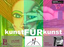 """KUNST für KUNST """"Frauen bewegen mit Kunst"""" @ VOTE young&contemporary"""