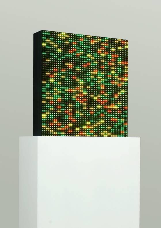 Melitta Moschik : GENOME IMAGING Installation