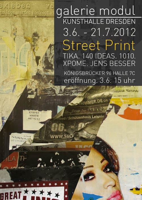 Street Print Ausstellung Dresden