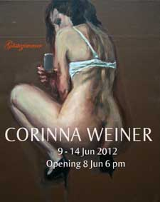 Corinna Weiner - Sommerausstellung mit Berliner Gästezimmer