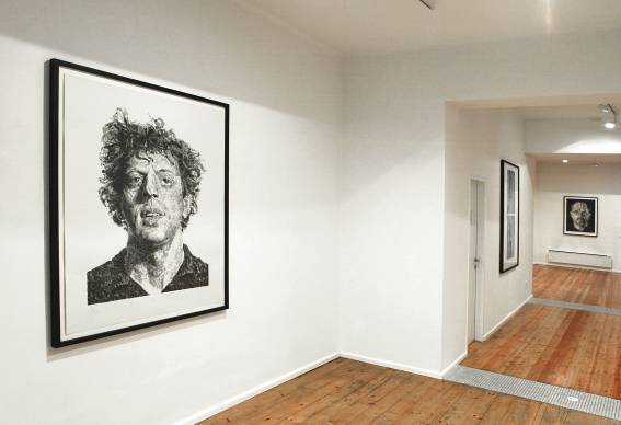 Chuck Close : Actual and Invented Realities FEATURED PRINTS