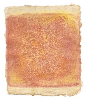 Gotthard Graubner - Malerei auf Papier