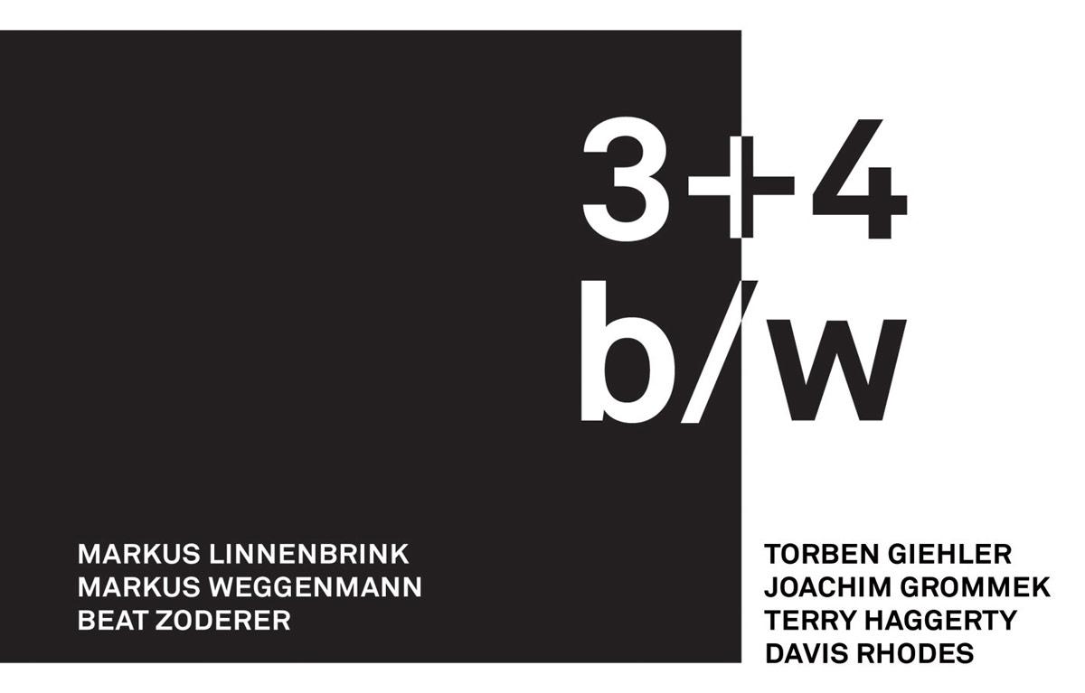 3 + 4 b/w