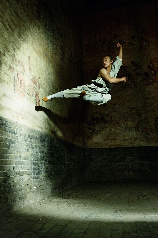 Die Shaolin-Mönche - Fotografien von Sabine Kress und Texte von Felix Kurz
