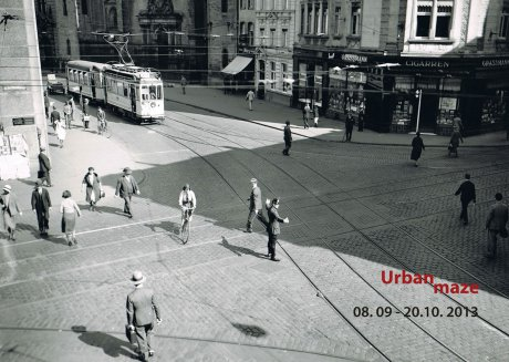 Urban maze Ausstellung Koeln