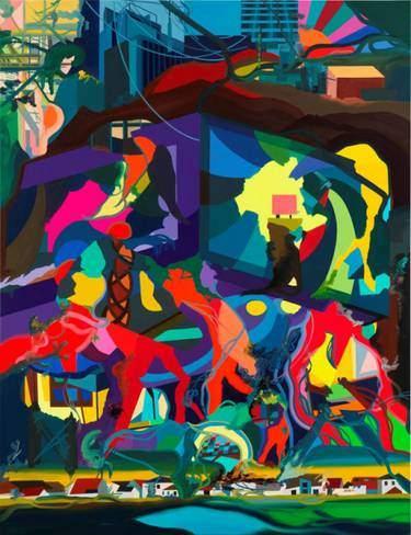Franz Ackermann - Painting Forever