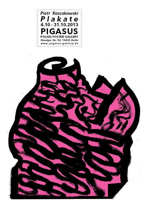 Ausstellung Piotr Kossakowski Polnische Plakatkunst