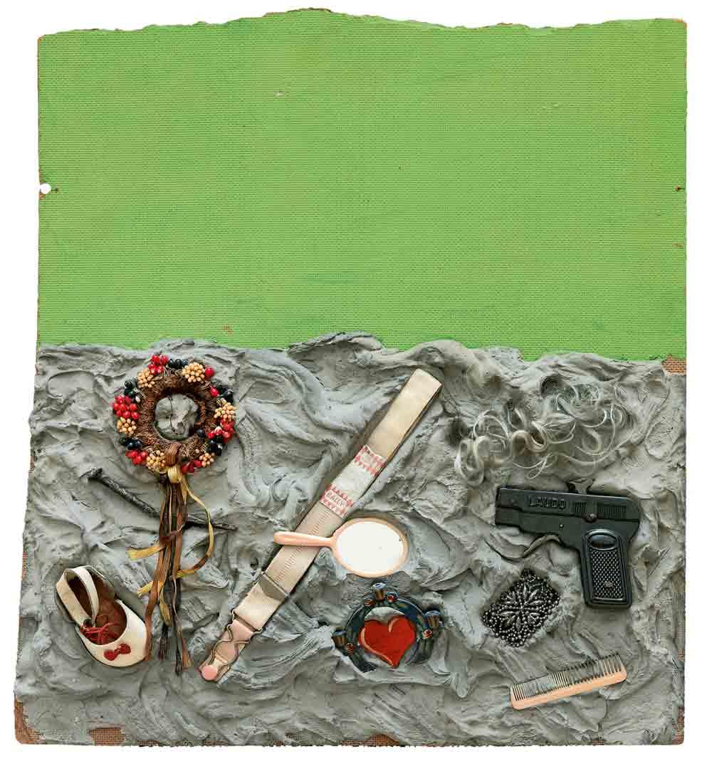 Niki de Saint Phalle. En joue! Assemblagen und Schießbilder 1958-1964 Ausstellung Hannover