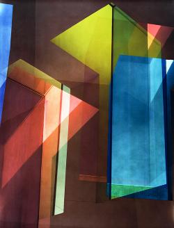 Ola Kolehmainen – Geometric Light. In einer Installation von Sauerbruch Hutton.