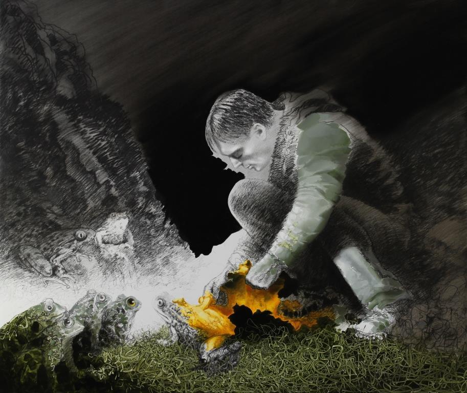 Igor Oleinikov - Malerei   Manuela Tirler - Skulptur
