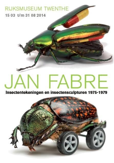 Jan Fabre. Insektenzeichnungen und Insektenskulpturen 1975 – 1979