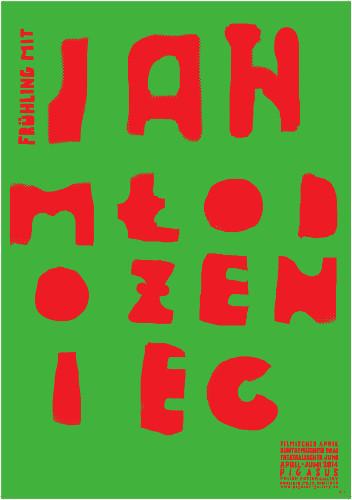 Ausstellung Frühling mit Jan Mlodozeniec - Buntgemischter Mai - Plakatkunst