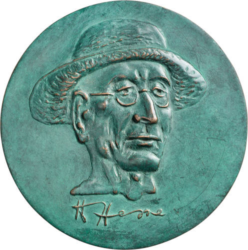 100 Köpfe, gestaltet vom Bildhauer, Kupferstecher und Medailleur Hubertus von Pilgrim