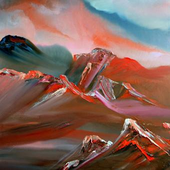 """David Snider - """"Sands of Time"""", Malerei, Ausstellung von """"art place berlin"""""""