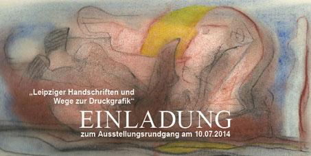 Leipziger Handschriften und Wege zur Druckgrafik