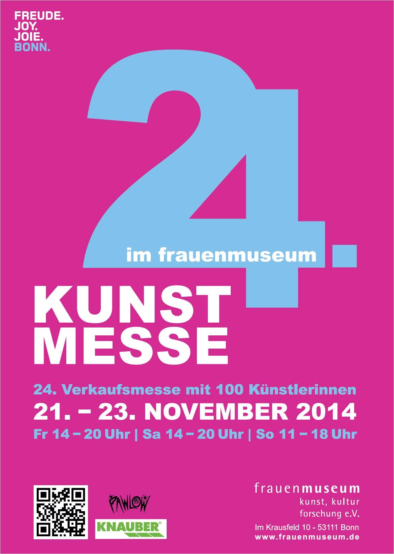 24. Kunstmesse und Verleihung des Valentine Rothe Preises