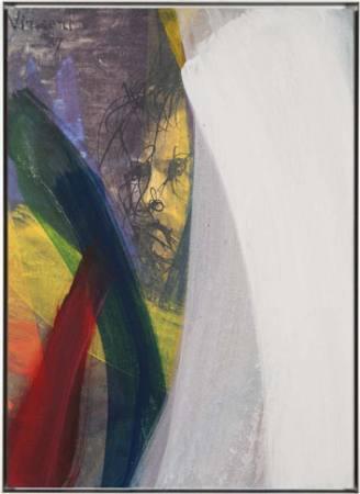 Arnulf Rainer. Malerei, Arbeiten auf Papier Ausstellung Ahlen