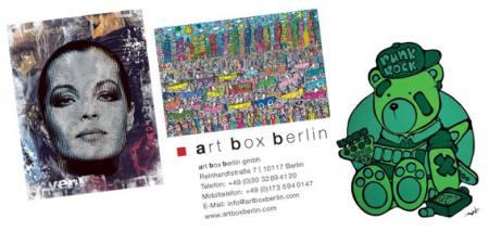 JAMES RIZZI, EWEN GUR und DEVIN MILES in Berlin