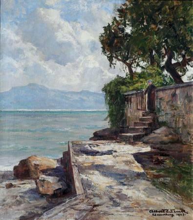 Seen und Meere in der Malerei – Albert Wenk (1863-1934) und seine Epoche Ausstellung Ueberlingen