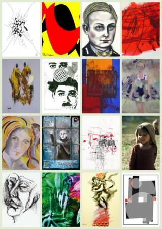 THE MAP - 16 KünstlerInnen, 6 Nationen, 80 Kunstwerke