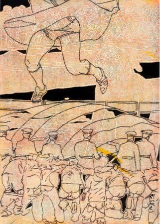 Arno Bojak - Raw Draw Up / Zeichnungen