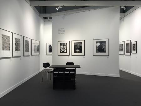 BOOTH B38 - PARIS PHOTO 2015 Ausstellung Stuttgart