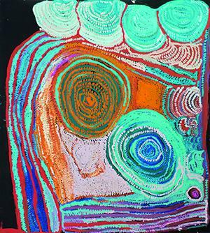 Wanderausstellung Pro Community 2016 – Ngaanyatjarra Lands  Die Art Brut der Aboriginal Art aus West