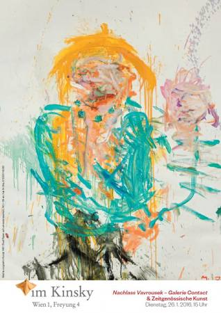 Nachlass Vavrousek - Galerie Contact & Zeitgenössische Kunst