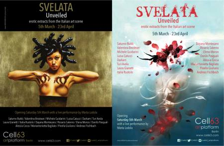 Svelata / Unveiled - Erotic extracts from the Italian art scene