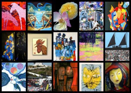 GASTSPIEL -  BIENNALE AUSTRIA KünstlerInnen in der Galerie am Färberbach