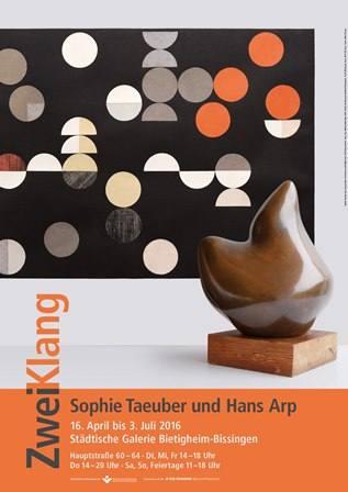 ZweiKlang. Sophie Taeuber und Hans Arp Ausstellung Bietigheim-Bissingen