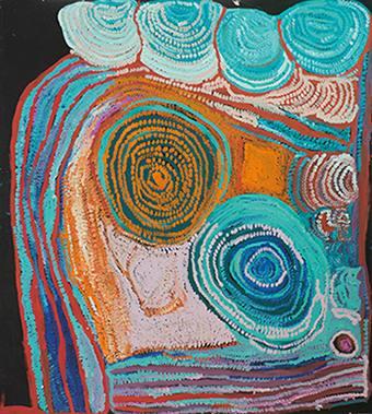 Aboriginal Art im Museum Fünf Kontinente - Pro Community 2016