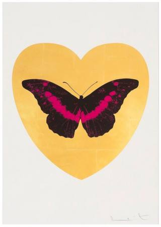 DAMIEN HIRST - I LOVE YOU and PSALMS