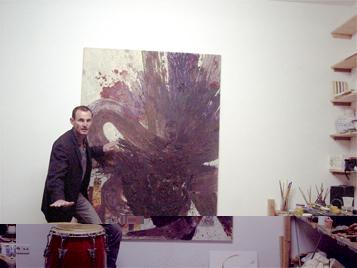 Congalerei - Malerei und Percussion