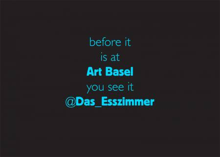 DAS ESSZIMMER goes Outer Space during Art Basel | Pop-Up Gallery/OFF-Space Lounge