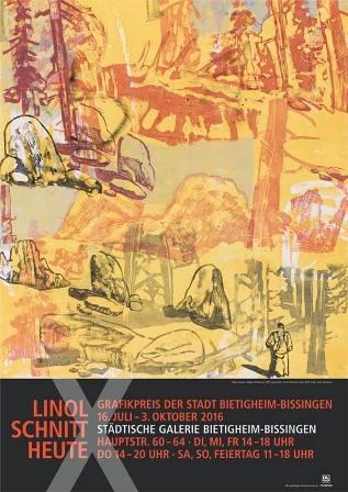 Linolschnitt heute X. Grafikpreis der Stadt Bietigheim-Bissingen