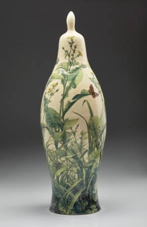 Aprilgras - Keramiken und Papierarbeiten