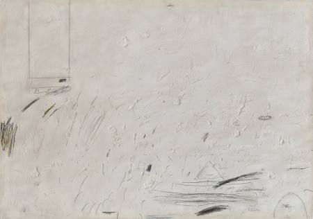 Cy Twombly - Malerei auf Papier