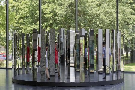 """Jeppe Hein - Im Rahmen von """"Sculpture 21st"""" Ausstellung Duisburg"""