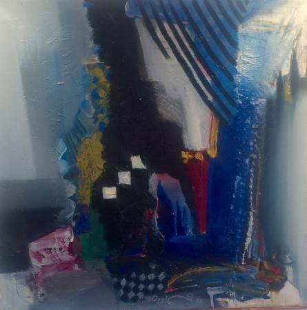 Glücklichsein ist die Frage der Haltung - Gogi Lazarashvili, Malerei Ausstellung Wien