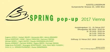 BA SPRING pop-up 2017 Ausstellung Wien