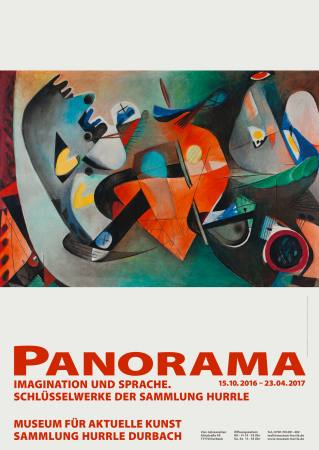 PANORAMA - Imagination und Sprache. Schlüsselwerke der Sammlung Hurrle